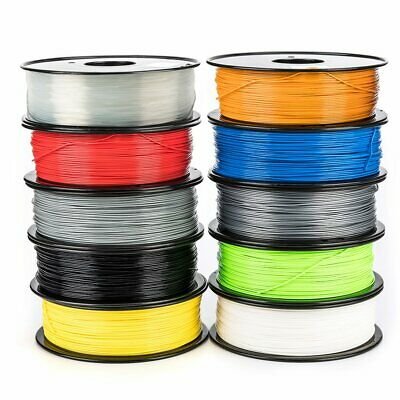 Aussie 3D Printer Filament ABS PLA 1.75mm 1kg/roll 10 Colours Stock Fast Ship