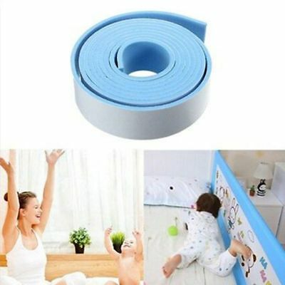 Edge Corner 2M Pillar Softener Guard Collision Protector Cushion Strip Bumper