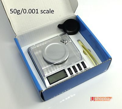 Diamond Pocket Digital Scale 50g 0.001 High Precision 50gm/0.001 CL