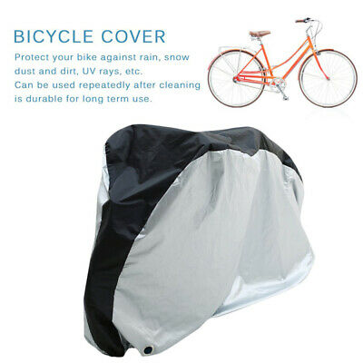 Waterproof Cycle Cover For Bicycle Bike Rain Dust Resistant Garage Storage