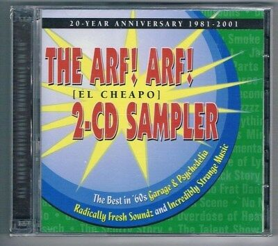 Various Artists - Arf! Arf! - Best in '60s Garage & Psychedelic, D'CD Neuware