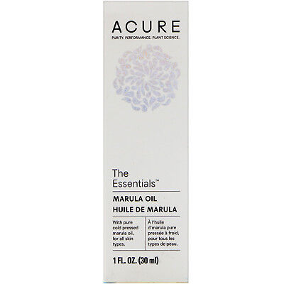Acure, The Essentials, Marula Oil, 1 fl oz (30 ml)