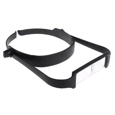 1.6x 2.0x 2.5x 3.5x Head Headband Replaceable Lens Magnifier Loupe Magnify Glass