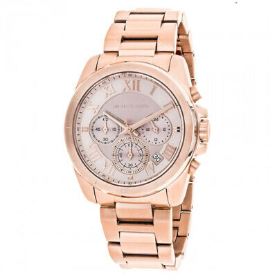 fdd3d23bea9b New Michael Kors Brecken MK6367 Brecken Rose Gold Tone Quartz Women s Watch
