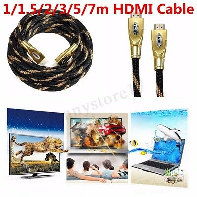 4k 2160P HDMI 2.0v Cable Gold Plated With Ethernet 3D For HDTV PS3 DVD XBOX LCD