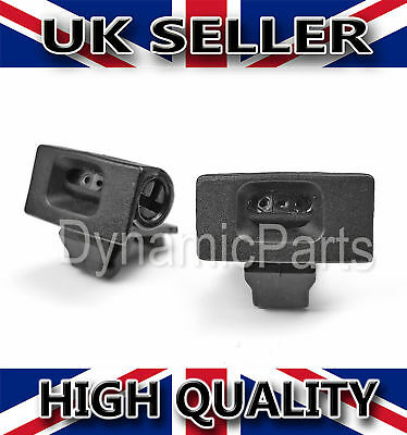 2x RENAULT CLIO MK4 FRONT WINDSCREEN WASHER JET NOZZLE WATER SPRAY JET