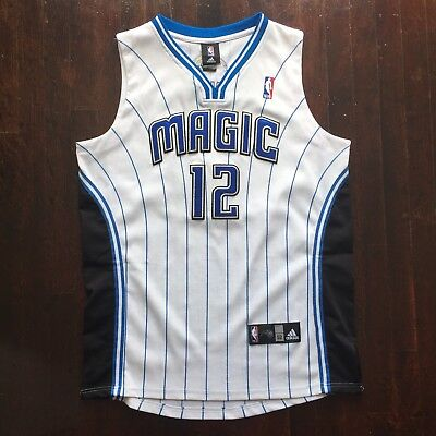 a5c8e2c8f6d2 ADIDAS NBA Orlando Magic Jersey DWIGHT HOWARD 12 Sewn White Size 52  Authentic