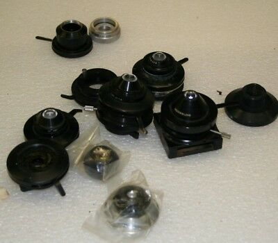 lot of AO American Optical Spencer / Bausch Lomb Microscope  Condensers