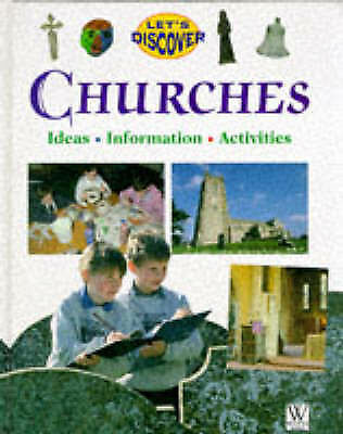 Bradley, Charles, Churches (Let's Discover), Very Good Book