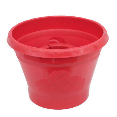 Large Christmas Tree Stand Tub Pot Bucket Red for 7 ft (2.1m) Real Cut Xmas Tree