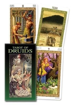 Tarot of the Druids Based on Tarot of the Celts by Lupatelli Celtic Pagan Wicca