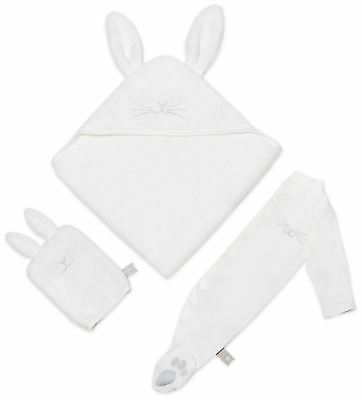 The Little Green Sheep ORGANIC BABY BATH & BED GIFT SET (0-3M) - BUNNY BNIP