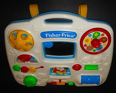 Fisher Price Busy Box 1175 Activity Center Infant Baby Crib Toy