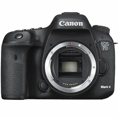 Canon EOS 7D Mark II 20.2MP Digital SLR Camera Black Body Only