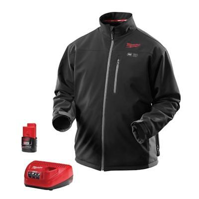 Milwaukee M12 Toughshell Heated Jacket Kit - Black