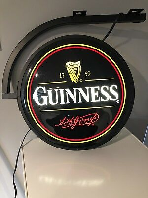 Guinness Pub Lighted Sign - Authentic Item -