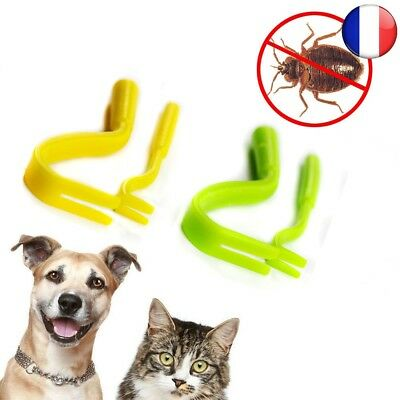 Tique Twister Remover Crochet Outil Pack x 2 Tailles Cheval Chien Chat Pet Puce