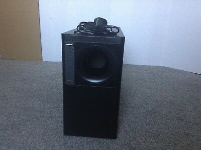 bose 1x acoustimass subwoofer for lifestyle 12/25/30/50