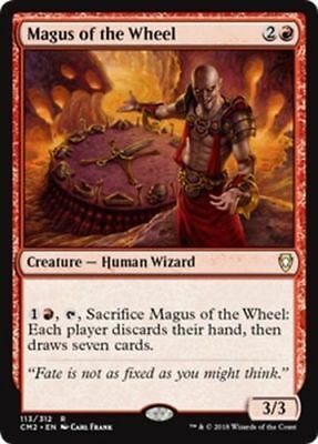 1x MAGUS OF THE WHEEL - Human Wizard - Commander MTG - NM - Magic the Gathering