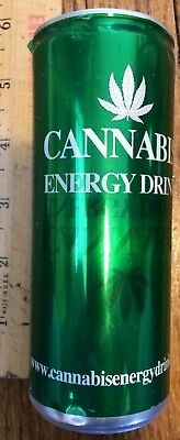 Old 2010 Cannabis Energy Drink 8.4 Collectible Can Monster Rockstar Red Bull