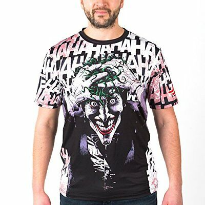 Batman Men's Fusion Fight Gear The Killing Joke Loose Fit Rash Guard, Medium