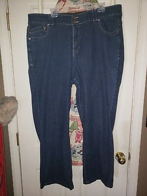 Lane Bryant Straight Leg Women's Jeans  Plus Size 22 Tighter Tummy Technology