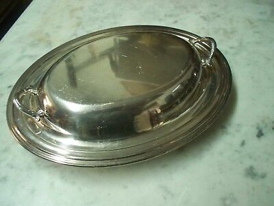 William Rogers Covered Silver Plated Dish