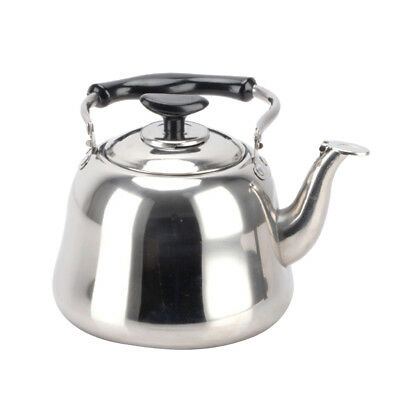 Induction Stove Top Electric Gas Whistling Kettle Stainless Steel Teapot 1L