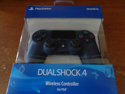 NEW Sony DualShock 4  Midnight Blue PS4 Wireless Controller DS4