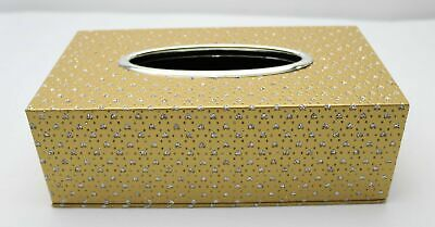 Golden Hearts Dotted Tissue Box 26410