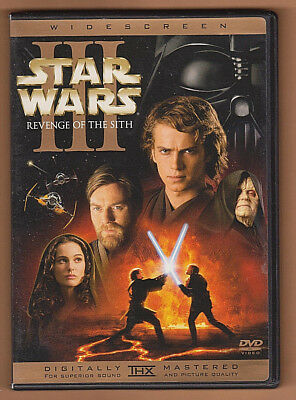 Star Wars (2005) 2-DVD Set ~ Revenge of The Sith ~ Natalie Portman