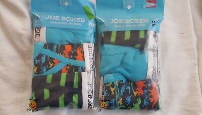 Joe Boxer Baby Toddler boy's  2-3-Pack briefs Size 2T-3T (25-32lbs) new