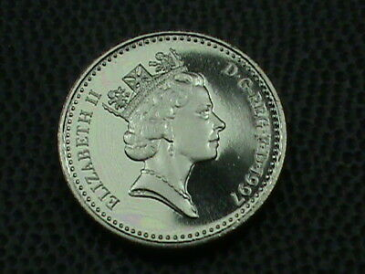 GREAT BRITAIN   5 Pence   1997   PROOF   ,   $ 2.99  maximum  shipping  in  USA