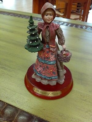 Duncan Royale Babouska of Russia 7in History of Santa 1990 Figurine