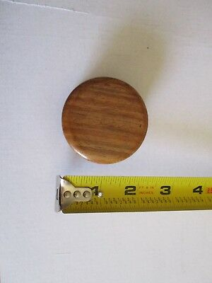 WOOD Tobacco Grinder Herb Spice Crusher Wooden Case                         8359