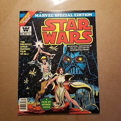 Star Wars issue #1 LARGE WHITMAN MARVEL SPECIAL EDITION!! ... VF condition..