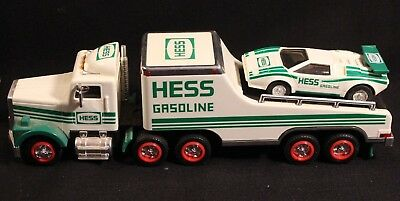 Hess 1991 Toy Truck and Racer Seasons Greetings