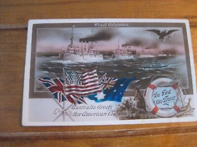 US Fleet Visit to Australia 1908 - Welcome to Our American Comrades (Victoria)