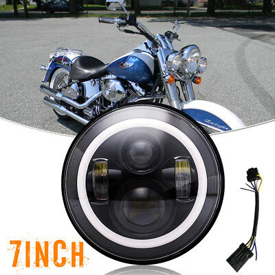 """Passing Fog lamp +7"""" Motorcycle Led Daymaker Headlight Fit Yamaha Road Star 1700"""