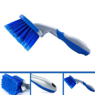 Universal Car Wheel Rims Tire Washing Handle Brush Auto Cleaning Tool USEFUL