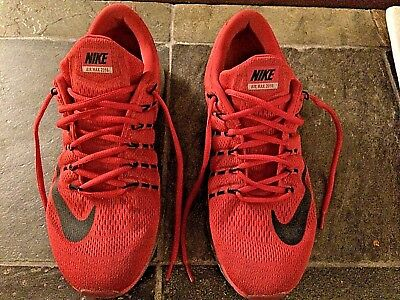 low priced d0f11 4051c NIKE AIR MAX 2016 Running Shoes 806771 601 Red   Black - Size 13 - NICE
