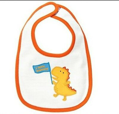 Gymboree Baby boys Dino Reversible Bib new