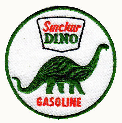 Sinclair Dino Opaline Motor Oil Gasoline Gas Station Embroidered Iron On Patch