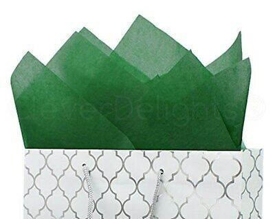 """CleverDelights Green Premium Tissue Paper - 100 Sheets - 20"""" x 30"""" 693892360798"""