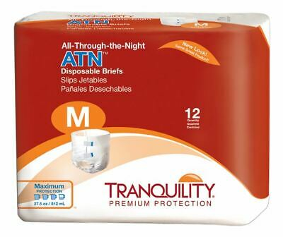 Tranquility ATN Adult Brief Medium 32''-44'' Heavy Absorbency Case of 96