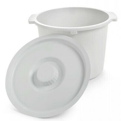 NEW! Invacare Replacement Commode Pail with Lid 12 Quart Capacity -1 Count