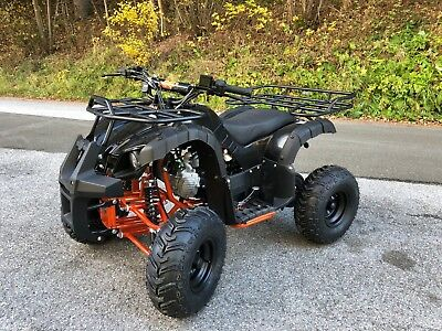 KXD MIDI Kinder Pocket Quad S-8 ATV 125cc schwarz orange