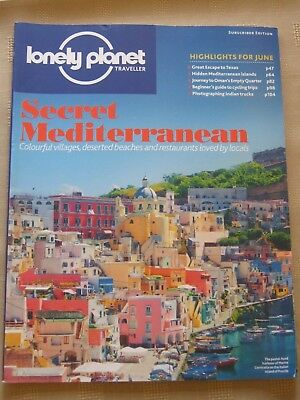 Lonely Planet Traveller Magazine. Mediterranean, Texas, Oman, Cycling June 2015