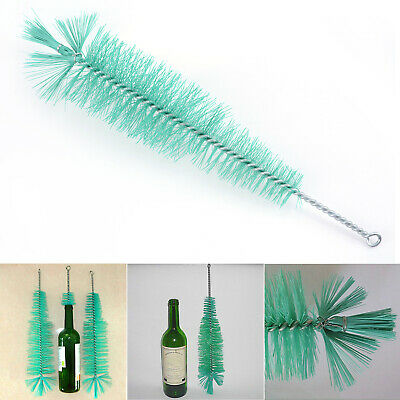 Nylon Bottle Cleaning Brush Wine Beer Brew Tube Spout Glass Cups Wash Cleaner