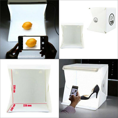 Photography Backdrop LED Light Room Tent Portable Photo Studio Lighting Mini Box